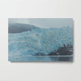 GlacierBlue Metal Print