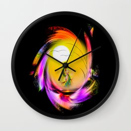 Sunrise 8 Wall Clock