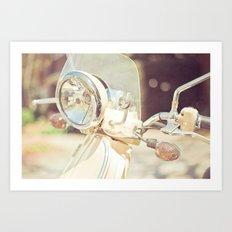 Sunny Vespa Art Print