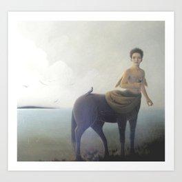 Early morning on Aquaferia II Art Print