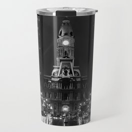 City of Brotherly Love [B+W] Travel Mug