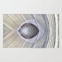 Peacock Feather Symmetry ii Rug