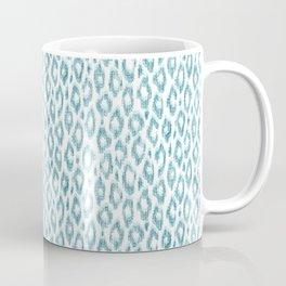 "Turquoise leopard pattern ""Leopold"" Coffee Mug"