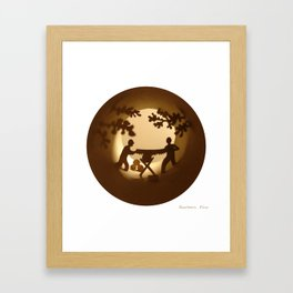 Loggers (Bûcherons) Framed Art Print