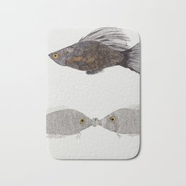 Kiss A Fish Bath Mat
