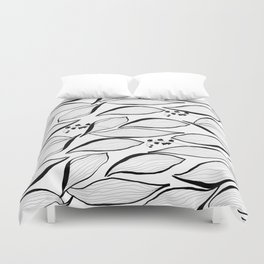 lilies of the valley Duvet Cover