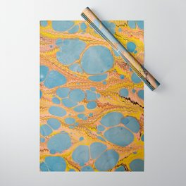 Fantasy Water Marbling Wrapping Paper