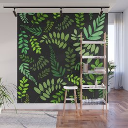 plant pattern updated Wall Mural