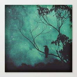Evening Songbird Canvas Print