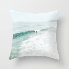 California Surf Throw Pillow