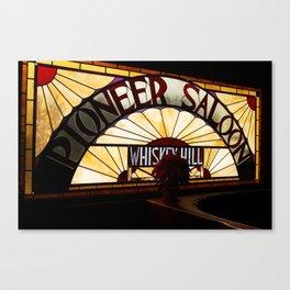 Pioneer Saloon  Canvas Print