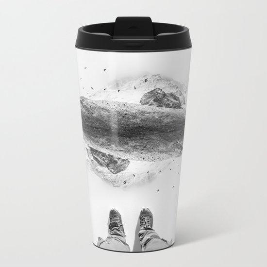 Solid ground Metal Travel Mug