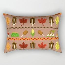 Ugly Thanksgiving Sweater Rectangular Pillow