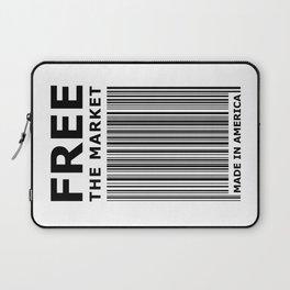 Free The Market Laptop Sleeve