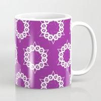 Abstract Stars Pattern Mug
