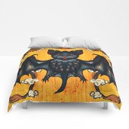 Black Bat Comforters