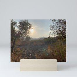 Evening Golden Hour Mini Art Print