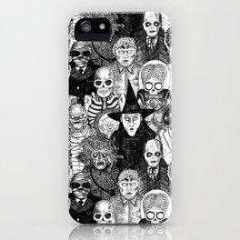 Horror Film Monsters iPhone Case