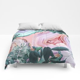 Mineral Agates & Garden #Glam collection Comforters