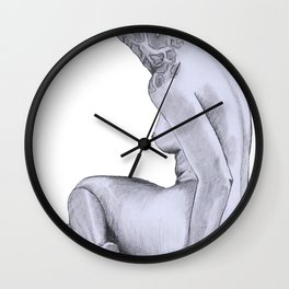 Big Booty Girl Wall Clock