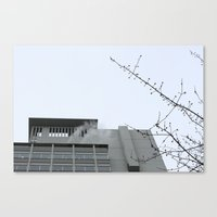 building Canvas Prints featuring Building by RMK Creative