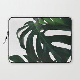 Monstera Leaf Print, Laptop Sleeve