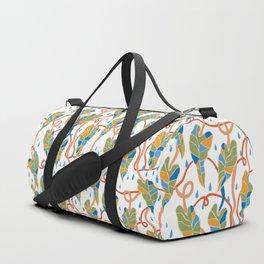 Flowing Vines Autumnal Duffle Bag
