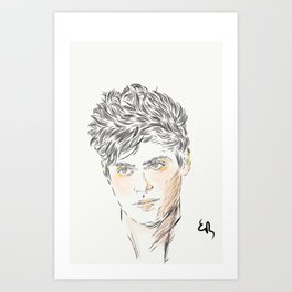 Alec Lightwood Art Print