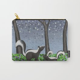starlit striped skunks Carry-All Pouch