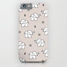 Origami elephant Slim Case iPhone 6
