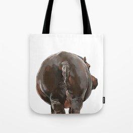 Hippo Butt Tote Bag