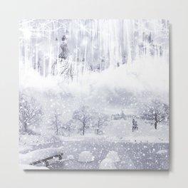 Snow Queen Metal Print