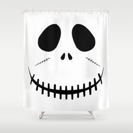 Zombie Face Shower Curtain