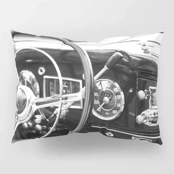 Classic Car Interior Pillow Sham