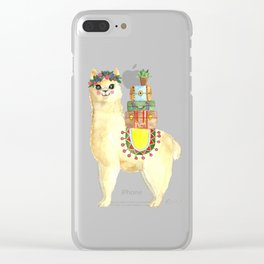 All packed Alpaca Clear iPhone Case