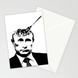 "Vlad ""Poutine"" - Putin Pun Portrait Stationery Cards"