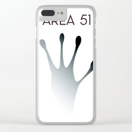 Area 51 Clear iPhone Case