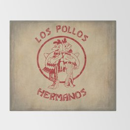 Los Pollos Hermanos vintage ( Breaking Bad ) Throw Blanket