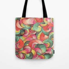 Graphic design seven by Leslie Harlow Tote Bag