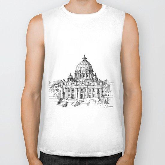 Basilica di S. Pietro a Roma Biker Tank