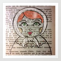 Matrioska number 2 Art Print