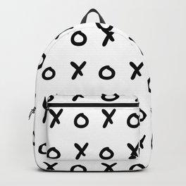 White & Black X&O's Backpack