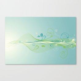 Dandelion Breeze Canvas Print