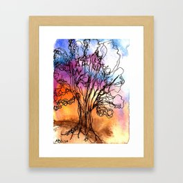 Ancient Tree II Framed Art Print
