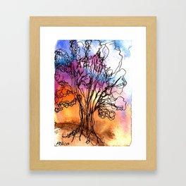 Ancient Tree II Framed Art Print