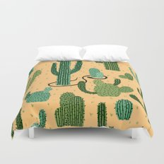 The Snake, The Cactus and The Desert Duvet Cover