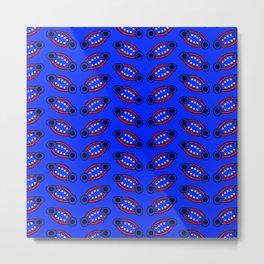 Blue Fruit Metal Print