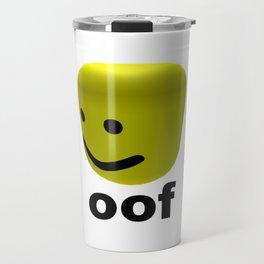 Roblox Oof - Roblox Travel Mug