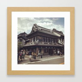 Kawagoe Japan Warehouse District 2 Framed Art Print