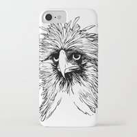 hawk iPhone & iPod Cases featuring Hawk  by Art is Vast